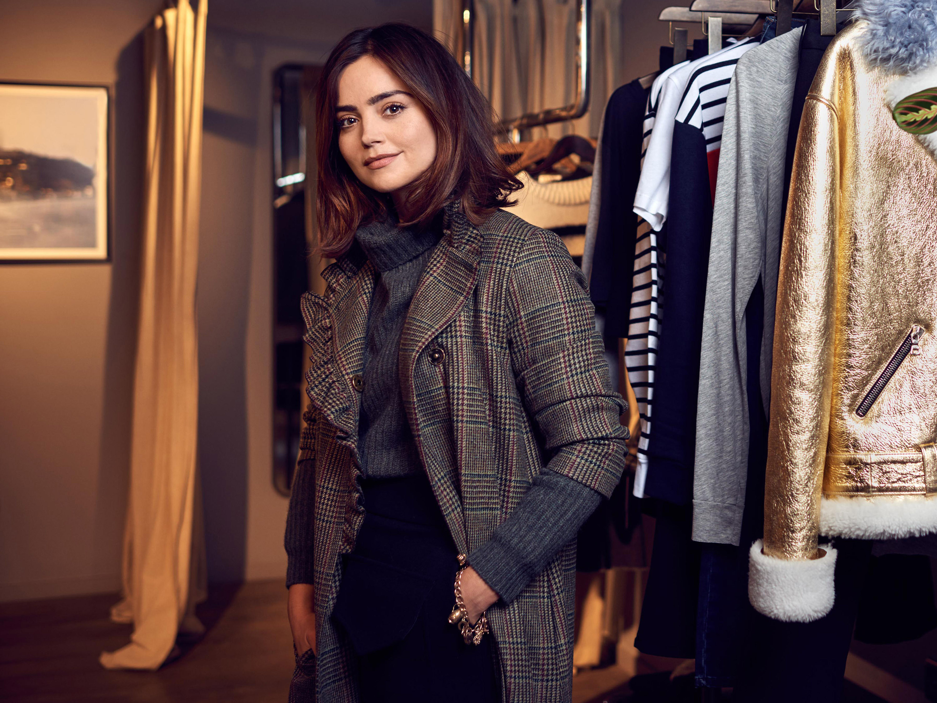 Quick fire questions with Jenna Coleman