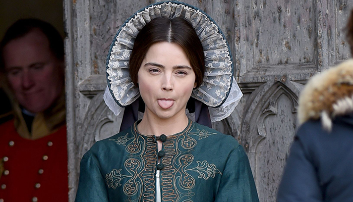 February 24- On set of Victoria in East Yorkshire